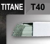 Baguettes tig TITANE