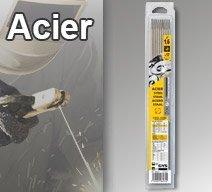 Electrodes ACIER - Rutile