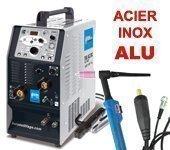 Poste à souder TIG AC DC  ACIER / INOX et ALU