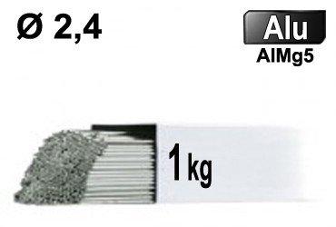 Baguettes tig ALU d2,4- 1kg