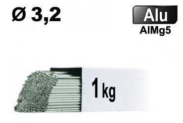 Baguettes tig ALU d 3,2 - 1 KG VRAC
