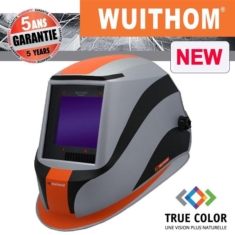 MASQUE DE SOUDEUR LCD WUITHOM 9910XX - VISION XXL TRUE COLOR - GARANTIE 5ANS -