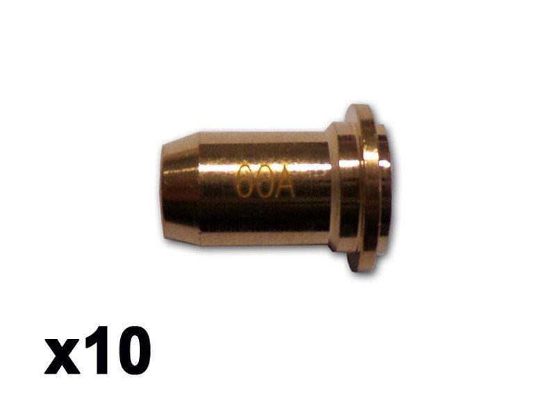 10 tuyères torche PLASMACUT 65 - WUITHOM