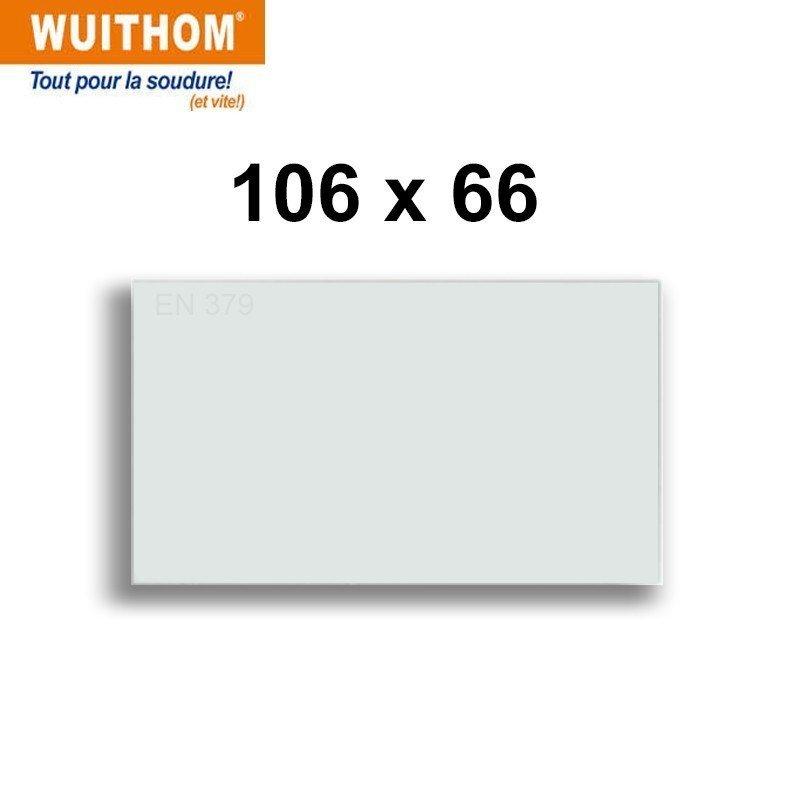 10 Écrans de garde -  Intérieur 106 x 66 mm  pour masque NEOPRO 7451 TC
