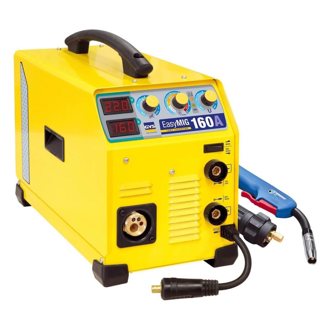 Poste de soudure MIG EASYMIG 160 -160A 230V - 3 EN1  - GYS