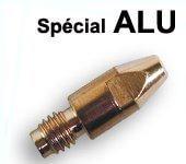 tubes contacts spécial alu Ø 0.8  M6 - Pour torche 250 / 350 A