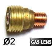 2 Supports pince Ø2  GAS LENS pour torches TIG SR9/SRL20/SR20HD