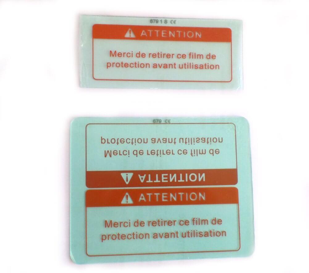 2 Verres de protections pour masque sodisarc