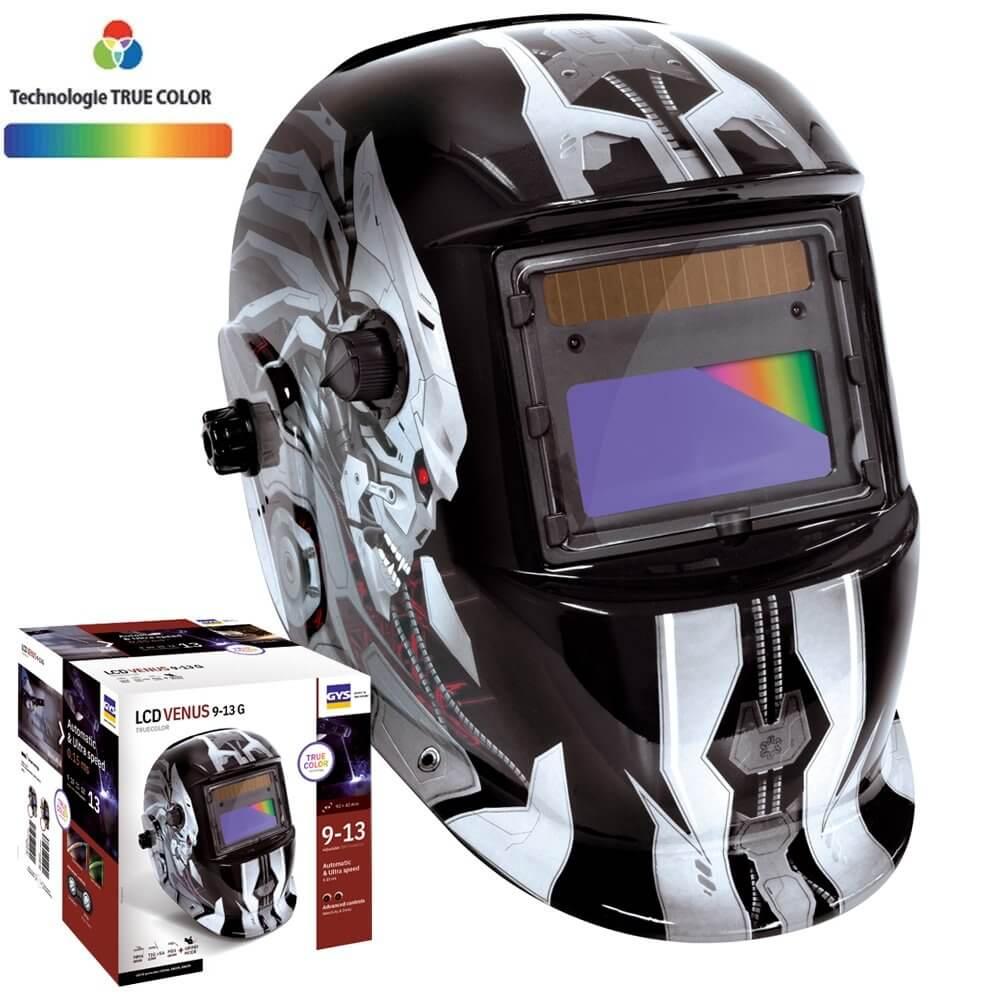 MASQUE DE SOUDEUR VENUS  LCD 9-13G - IRON - TRUE COLOR - GYS