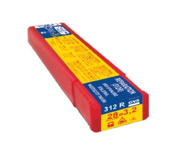 Électrodes INOX 312R - D 3,2 - ( 28 pièces ) - MAINTENANCE / REPARATION