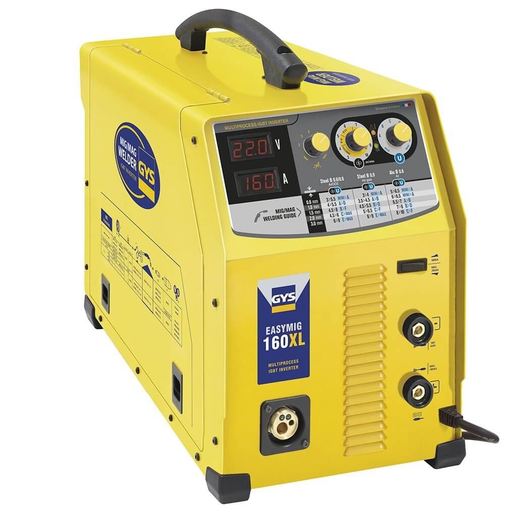 Poste de soudure MIG EASYMIG 160XL - 160A 230V - 3 EN 1 - GYS