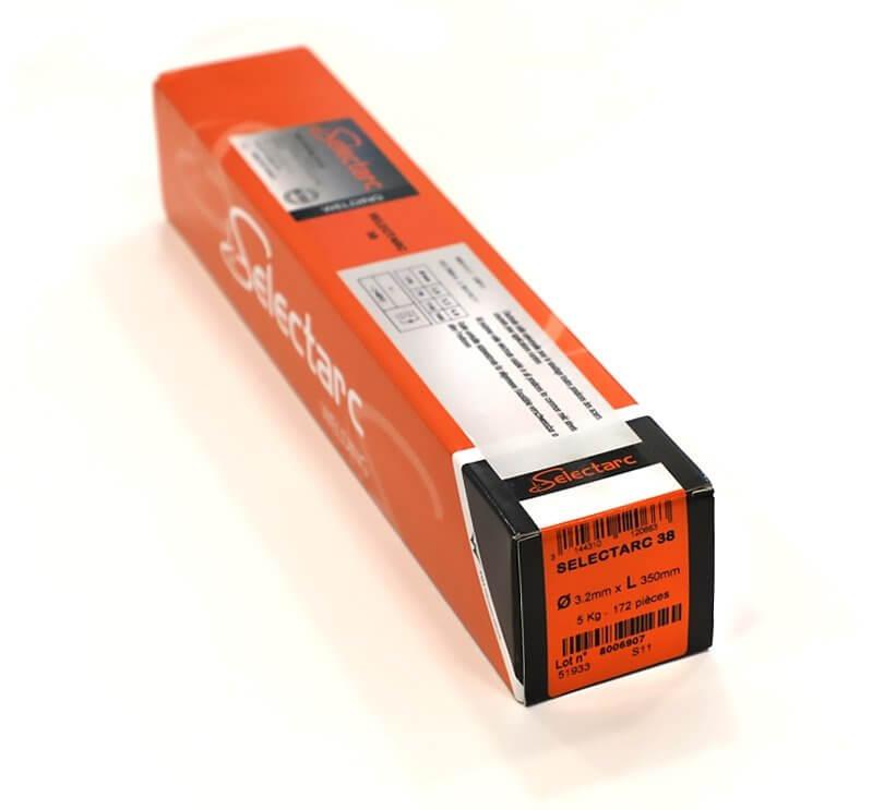 Electrodes ACIER rutiles - D3,2 - ( 172 pièces )