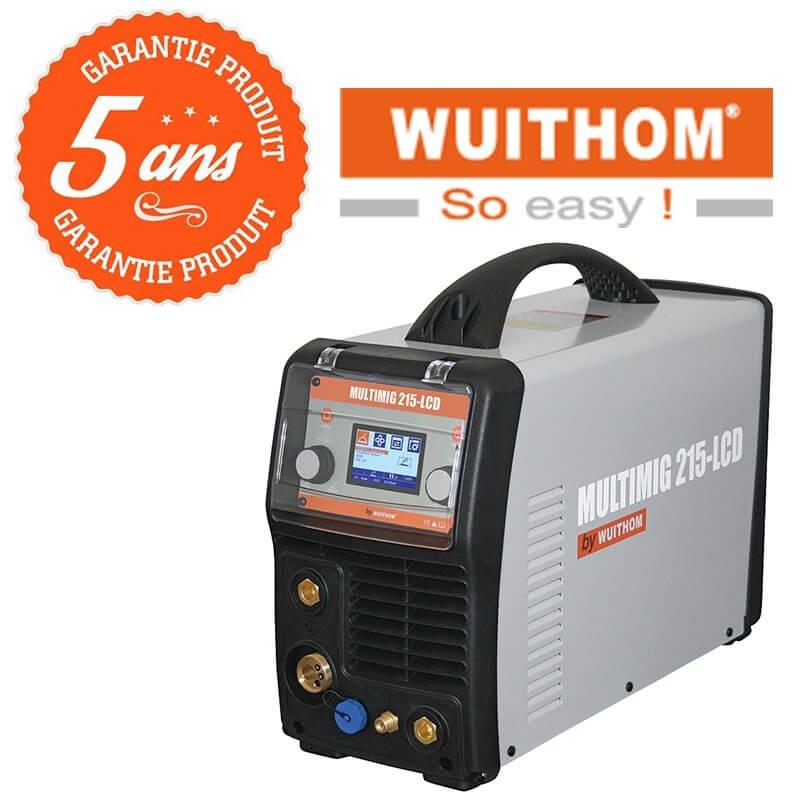 Poste à souder MIG - MULTIMIG 215-LCD - WUITHOM