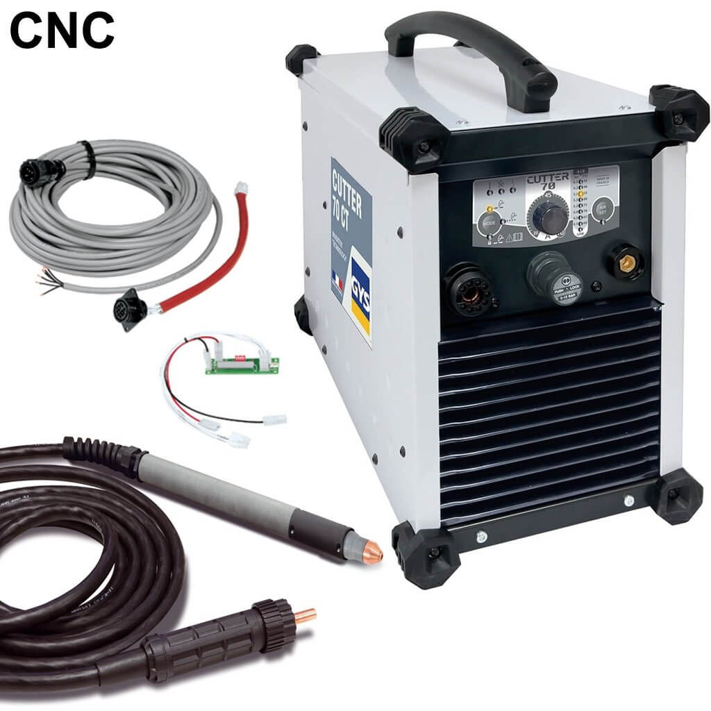 PLASMA CUTTER 70 CT TRI - Avec accessoires CNC - GYS