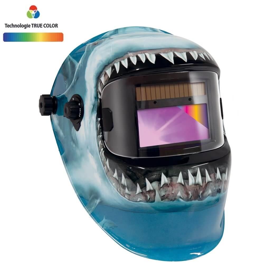 Masque de soudeur PROMAX  LCD 9-13G TRUE COLOR - SHARK - GYS