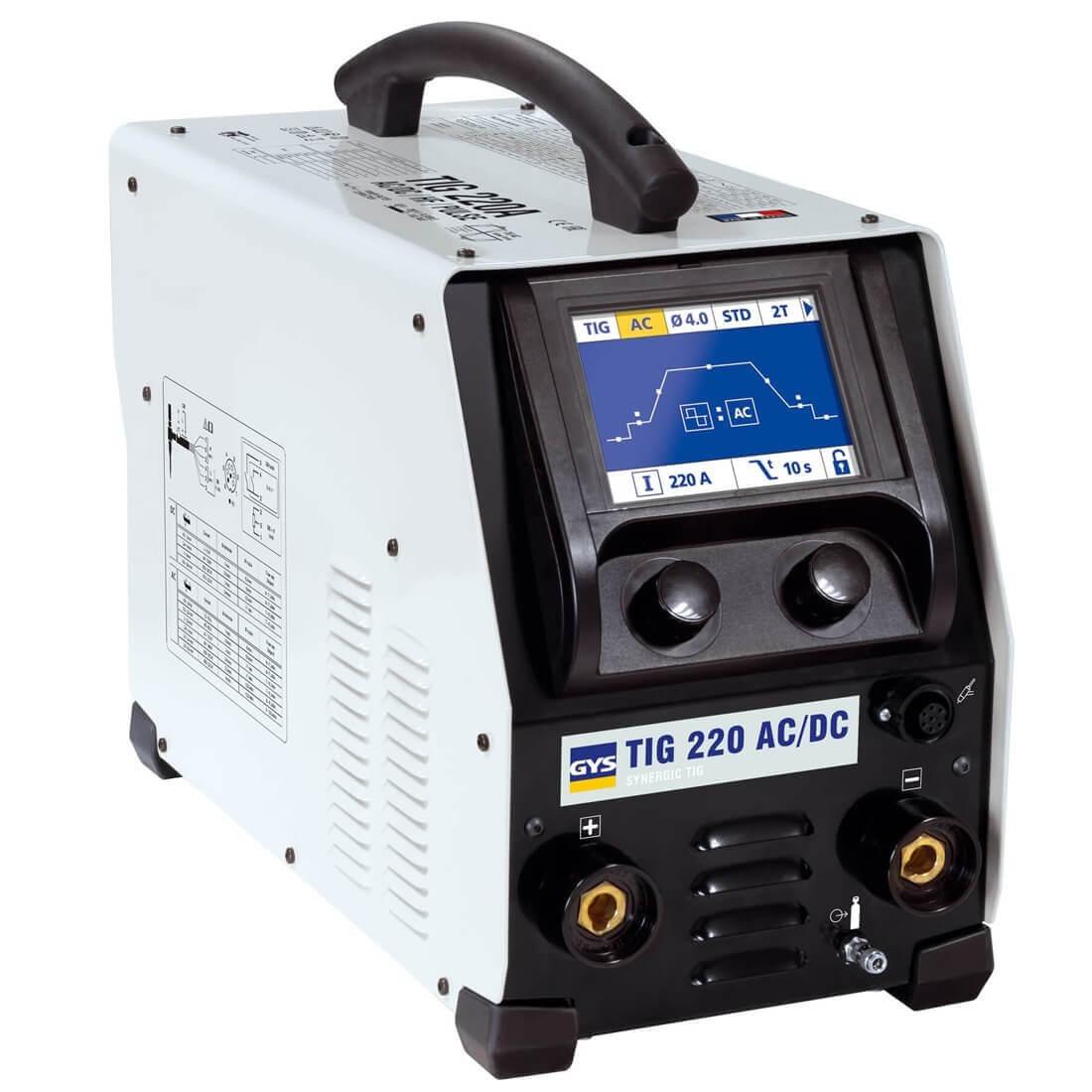 Poste de soudure TIG 220 AC/DC - GYS