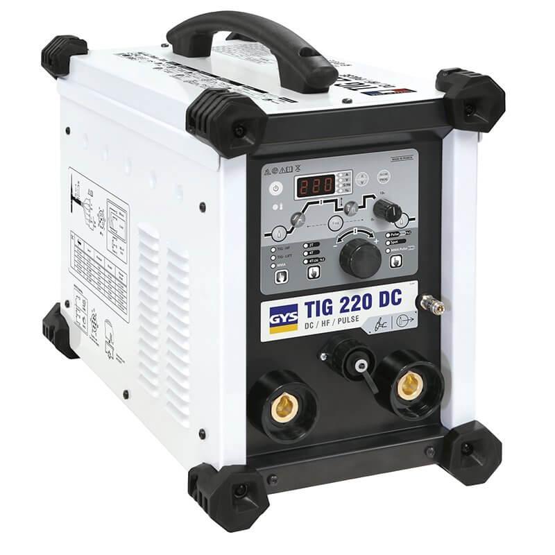 Poste de soudure TIG 220 DC HF sans accessoires - GYS - NEW MODELE