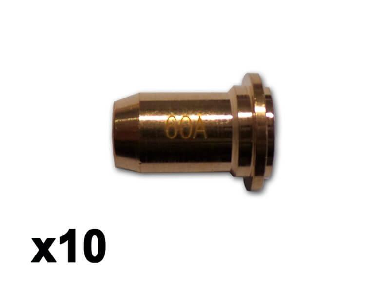 10 tuyères torche PLASMACUT 45 - WUITHOM