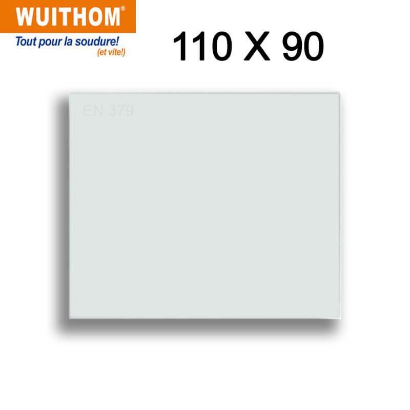 10 Écrans de garde -  Extérieur 110 x 90 mm  pour masque FLEXMATE / PROFLEX QUATRO