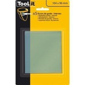 5 Écrans de garde -  Intérieur 104 x 96 mm  pour masque LCD SPACEWIEW  5-9 / 9-13