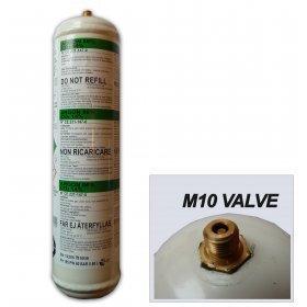 BOUTEILLE GAZ ARGON + CO2  jetable  - Soudure acier inox