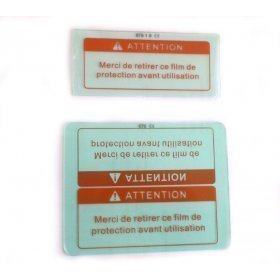 2 Verres de protections pour masque sodisarc 05754