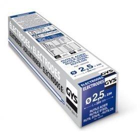 Électrodes ACIER rutiles - D 2,5 - ( 230 pièces )