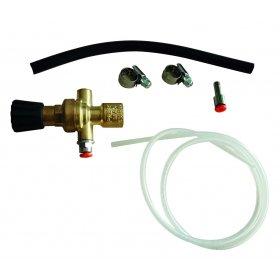 Détendeur pour bouteilles jetable 60L  TELWIN- valve