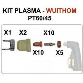 Consommables plasma pour PLASMACUT 45-COM - WUITHOM