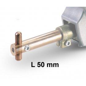 Electrode L50 mm D12 mm pour pointeuse MODULAR - TELWIN