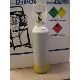 Bouteille OXYGENE  DUES MOBIL  2,3 m3   LINDE