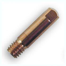 10 tubes contacts  Ø 1  M6 - Pour torche 150 A - (Adaptable NO-GAZ 0,9)