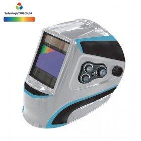 Masque de soudeur LCD ERGOTECH  5-9 / 9-13 G  TRUE COLOR - SILVER  - GYS