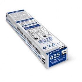 Électrodes ACIER rutiles - D 2,5 - ( 110 pièces )
