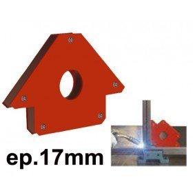 EQUERRE MAGNETIQUE  - Epaisseur 17 mm - Côté 110mm