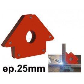 EQUERRE MAGNETIQUE  - Epaisseur 25 mm - Côté 133mm