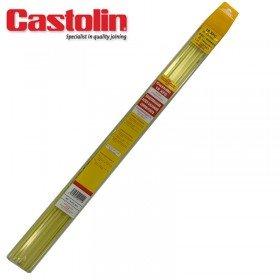 18 Baguettes enrobées métal d'apport brasage - Ø 3  - CASTOLIN