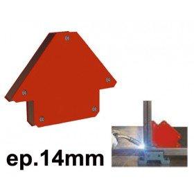 EQUERRE MAGNETIQUE  - Epaisseur 14 mm - Côté 85mm