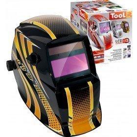 Masque de soudeur LCD HERMES 9-13G - GOLD - TOOL IT