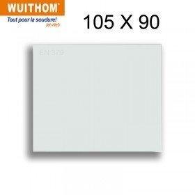10 Écrans de garde -  Intérieur 105 x 90 mm  pour masque 9910XX - VISION XXL