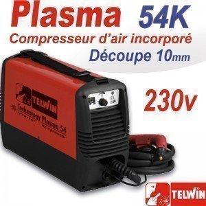 Découpeur PLASMA  54K Compresseur - TELWIN