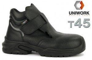 Chaussure de soudeur en cuir - T45 - UNIWORK