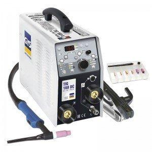 Poste de soudure TIG 168 HF DC avec accessoires - GYS