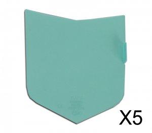 5 Écrans de garde -  Extérieur -  pour masque OPTREL P550