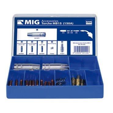 Coffret Torche MIG 150 A (MB15)
