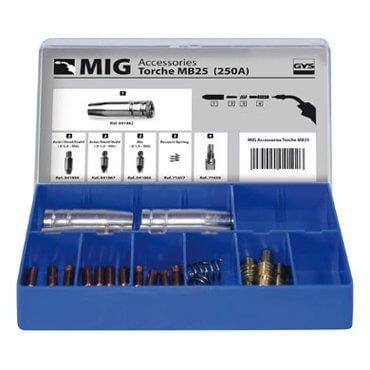 Coffret Torche MIG 250 A (MB25)