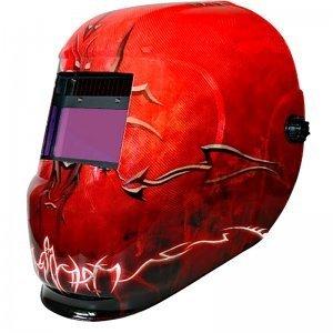Masque de soudeur LCD DSPRO 5490 REGLAGE 4 / 9 -13 - 4 CAPTEURS - WUITHOM -