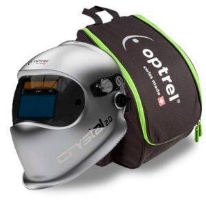 Masque de soudeur CRYSTAL 2.0 - OPTREL + Sac de transport