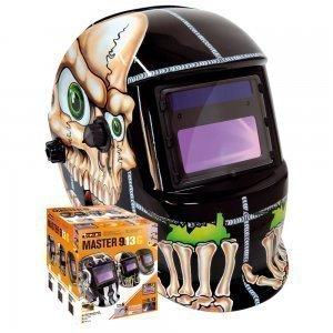 Masque de soudeur MASTER LCD 9-13G BONES - TOPARC