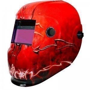Masque de soudeur LCD DSPRO 5291 REGLAGE 4 / 9 -13 - 2 CAPTEURS - WUITHOM